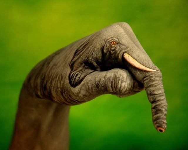 seni melukis tangan yang keren dan kreatif-1