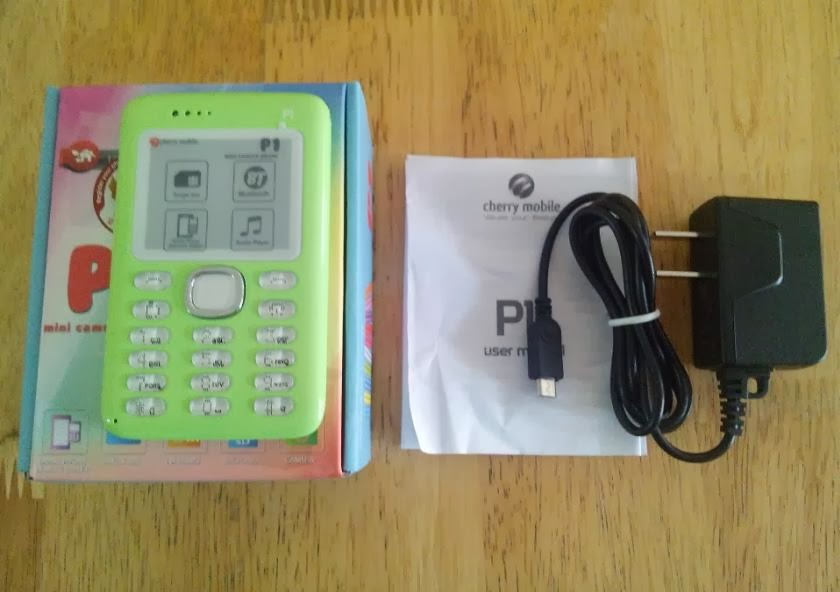 Cherry Mobile P1  Retail Package