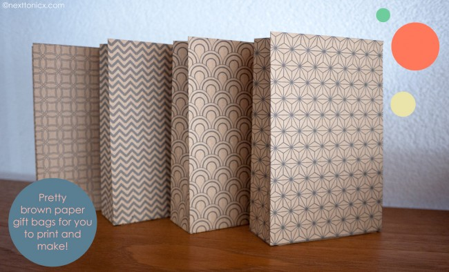 Great wrapping ideas using brown paper