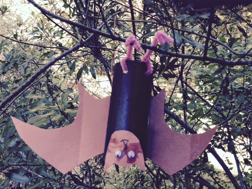 Kid's make Hanging Bats and have a Scavenger Hunt at ChiknEGG;s My Manakin Market on Saturday, October 25th, 2014