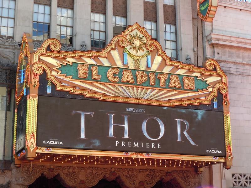 Thor premiere El Capitan Theatre