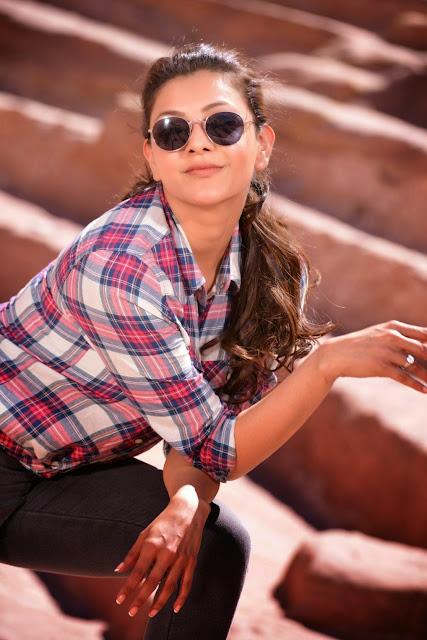 Kajal Aggarwal Looks Stunning in lovely Ethnic Fashion Sarees Choli HD HQ Pics