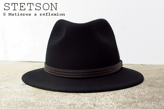 Chapeau femme Stetson noir Vidor
