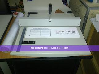 Mesin REL - CREASING Manual