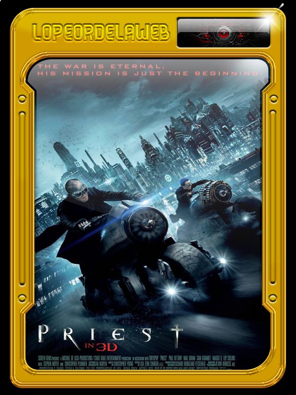 Priest (El vengador)  (2011) [BrRip-720p-Dual-Mega]