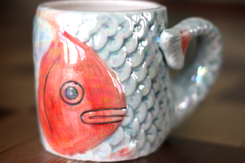 Thrift haul love for the ridiculous and whimsical for Fish thrift store