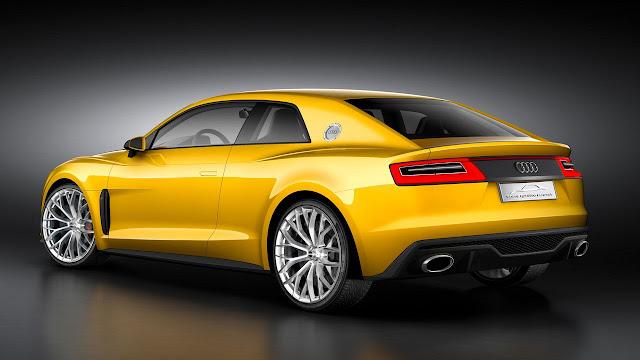 Audi Sport Quattro Concept rear