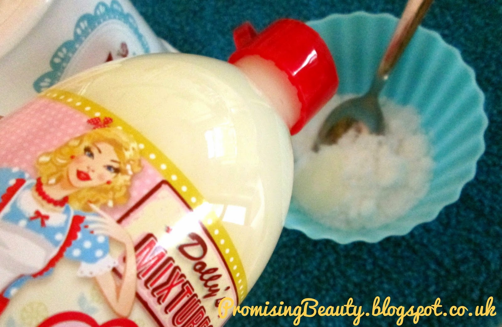 Easy diy body scrub. Dolly's mixtures bubble bath/shower gel in pina colada