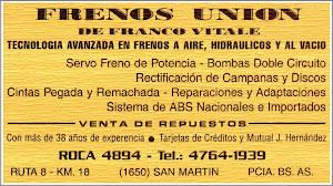 Frenos Union