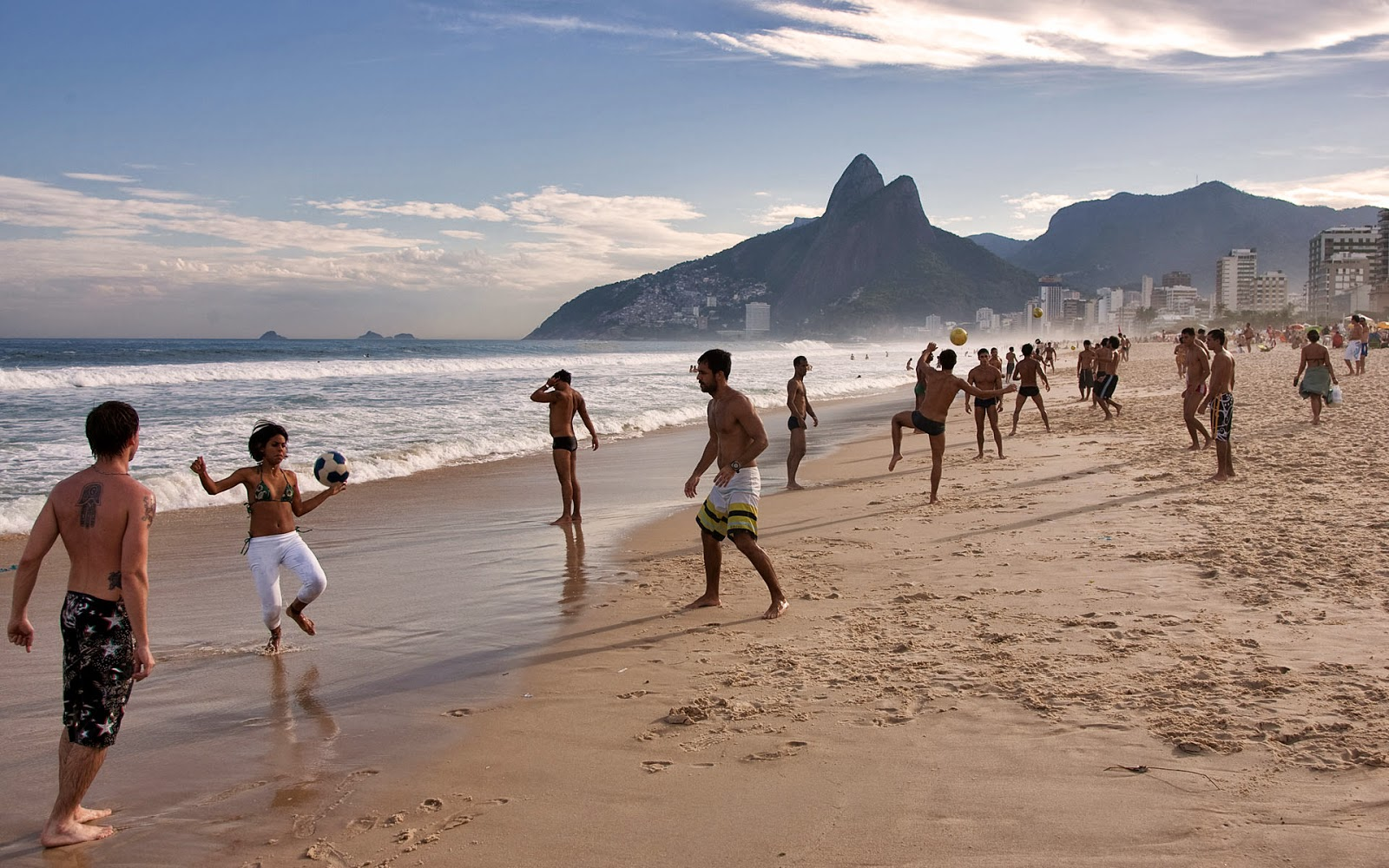 beach, ipanema beach, rio de janero, cool wallpapers, desktop backgrounds hd,