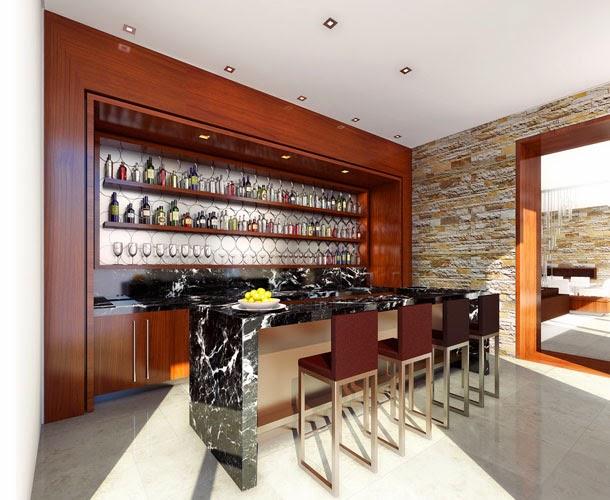 Bar em casa veja ideias simples e sofisticadas para for Bares madera modelos