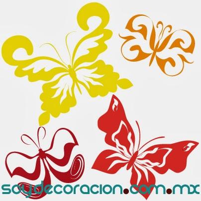vinil mariposa
