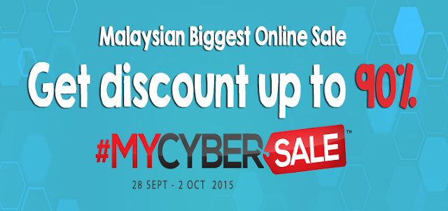#MYCyberSale 2015 28 September - 2 Oktober 2015