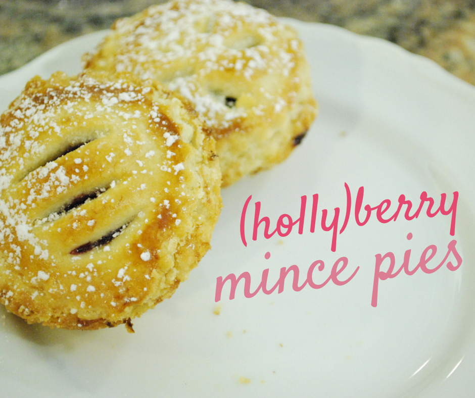 Berry Mince Pies: a fruit-frilled treat, sweetened naturally with raspberries & dates