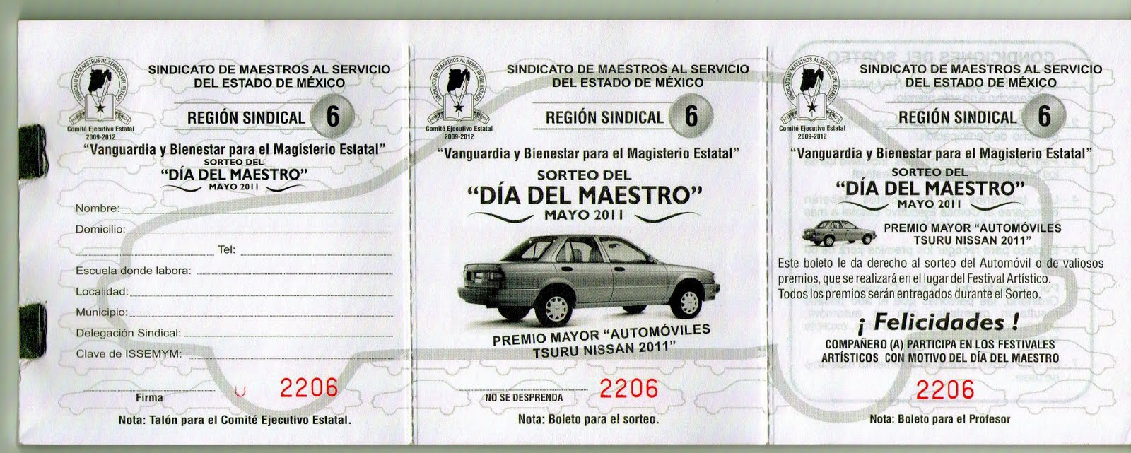 Formato Boletos Rifa Descargar Formato Boletos Rifa | New Style for ...
