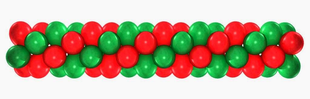 гирлянда из воздушных шаров