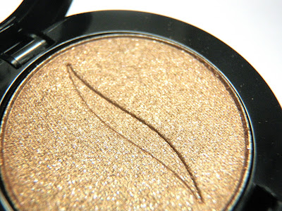 SEPHORA MINI HAUL, review and swatches with Sephora long lasting mono eyeshadow in the color So Elegant #51, gold bronze shimmer eyeshadow.