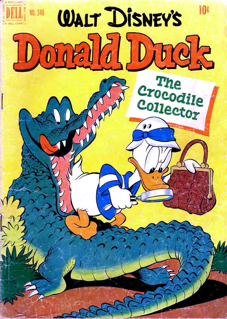 donald duck four color comics v2 348 carl barks cover pencil ink. Black Bedroom Furniture Sets. Home Design Ideas