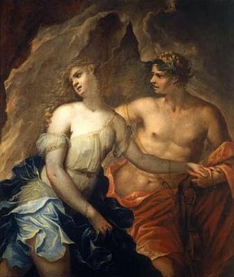 Eurídice e Orfeo