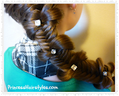 Recent Favorite Hairstyle Tutorial - Fishtail Bow Tie Braid
