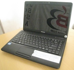 jual 2nd laptop toshiba satellite c640
