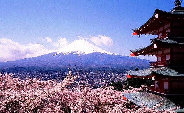 Tempat Wisata Terbaik di Jepang - Gunung Fuji