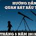 Hướng dẫn quan sát bầu trời tháng 5 năm 2013