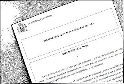 Sindicato profesional de vigilantes sevilla documento for Ministerio del interior sevilla
