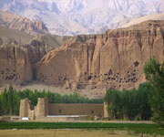 Buddhists Statues and Archaeological Remains of the Bamiyan Valley
