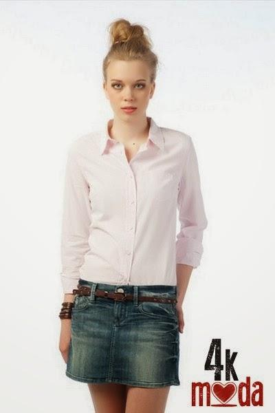 Yeni Moda Bayan Yazlık Gömlek Modelleri