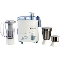 Buy Philips HL1631 500-Watt 3 Jar Juicer Mixer Grinder with Fruit Filter at Rs.2395