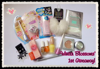 Winter Blossoms' 1st Giveaway!