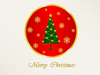 Free Download Merry Christmas Logo Wallpaper
