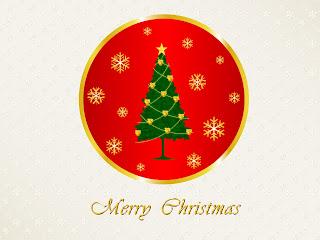 Free Download Merry Christmas Logo Wallpaper