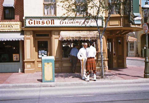 Cincinnati revisited greetings from cincinnati gibsons greeting card shop main street disneyland ca 1958 m4hsunfo