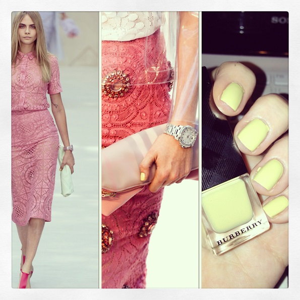 cara-burberry-ss14-nails-pale-yellow