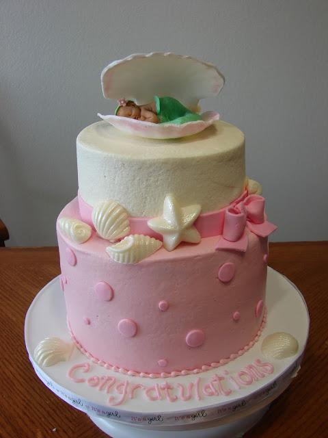my cake hobby mermaid baby shower cake
