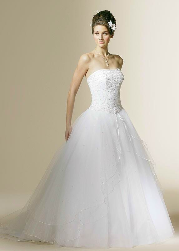 Ball gowns wonderful wedding dress for the brides for Pretty ball gown wedding dresses