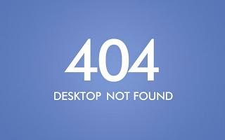 404 Desktop Not Found Error HD Wallpaper