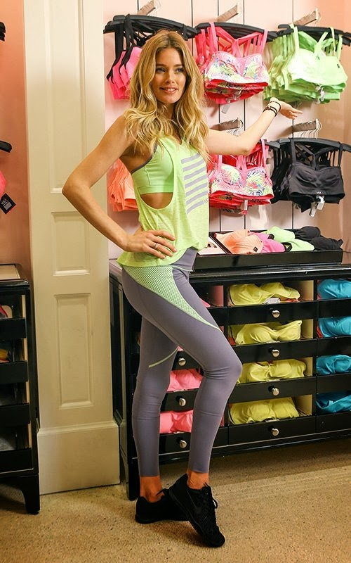 Promotion Event Photoshoot : Doutzen Kroes Photoshot For Victoria Secret Magazine VS Sports 2014 Issue