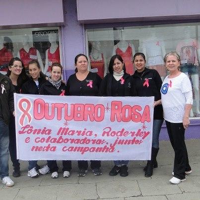 Sonia Maria no Outubro Rosa