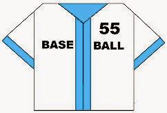 Bước 9: Hoàn thành cách xếp cái áo bóng chày bằng giấy.