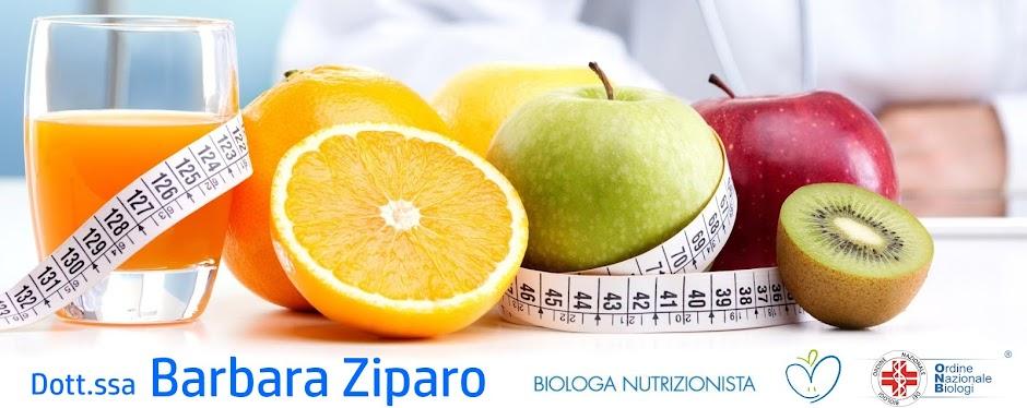 Barbara Ziparo Nutrizionista