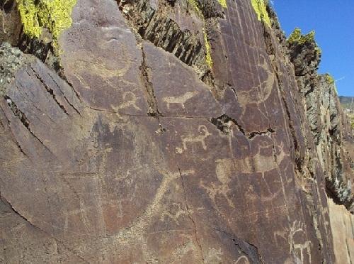 Dibujos prehistoricos Altai
