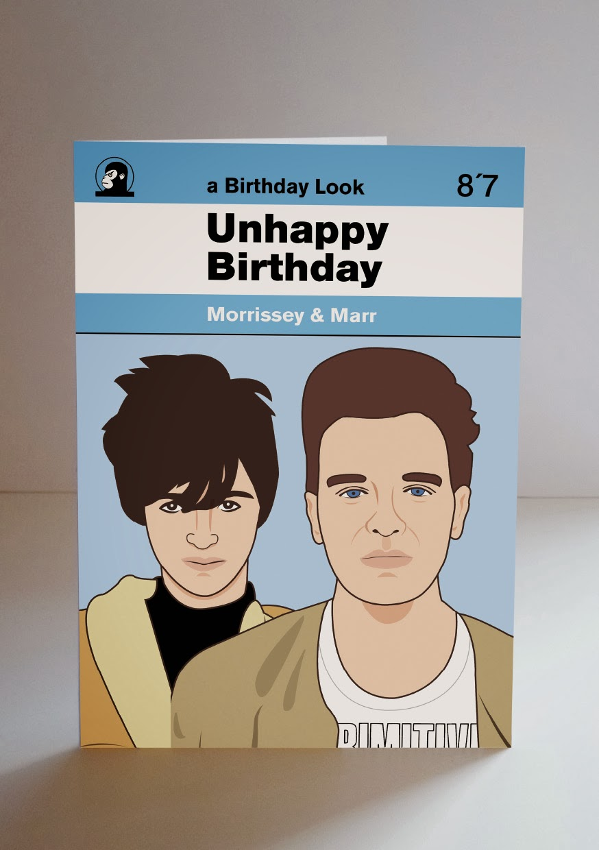 piper gates design morrissey birthday card, Birthday card