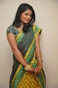 glamorous Anu Sri saree photos-thumbnail-12