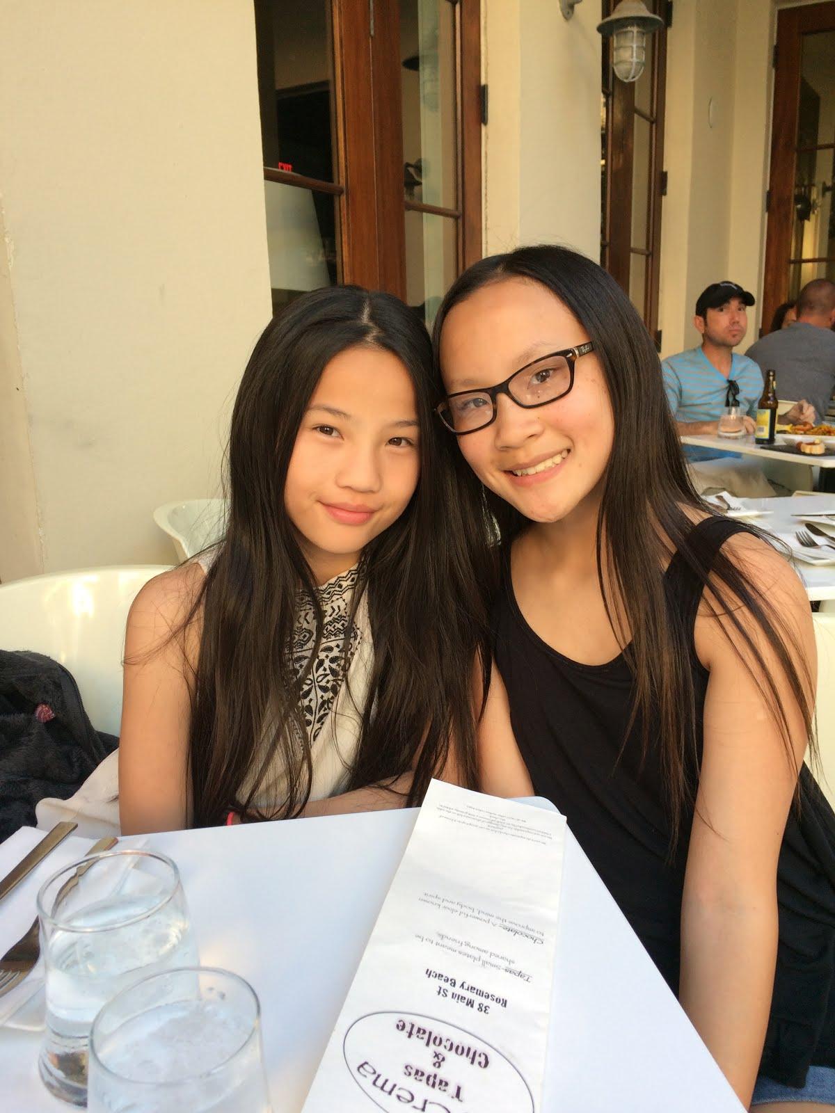 Zoe and Joelle