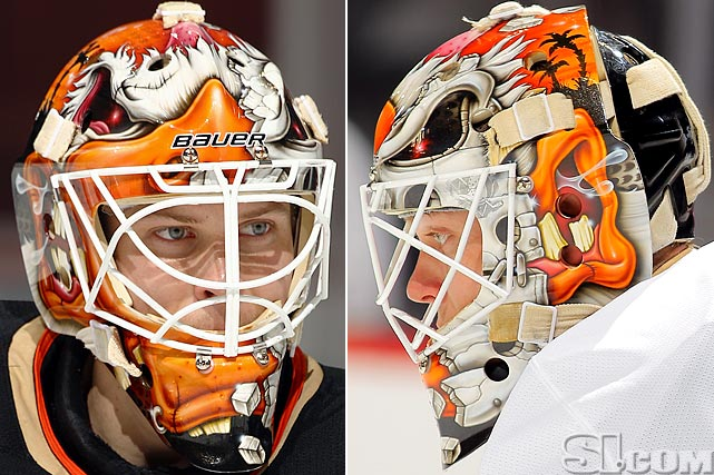 I Love Goalies!: Viktor Fasth 2012-13 Mask
