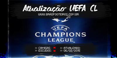 Atualização UEFA (Fevereiro) – Brasfoot 2014