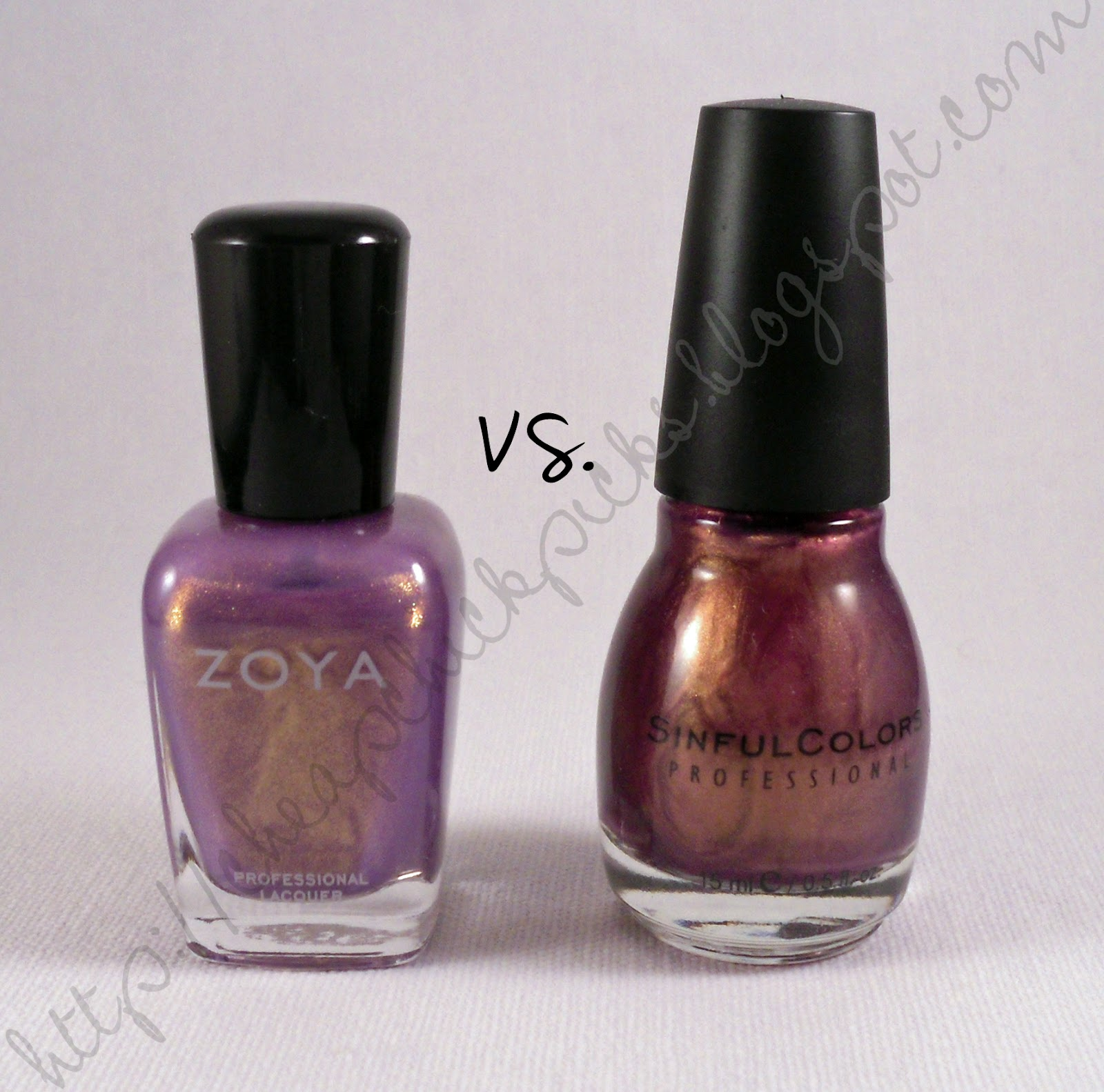 Zoya Zara  Sinful Colors Shausha  artificial lighting  no flashZoya Zara